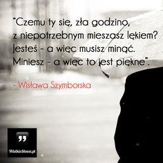 Czemu ty się, zła godzino... #Szymborska-Wisława,  #Poezja