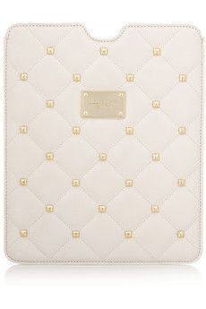 MICHAEL MICHAEL KORS Studded quilted leather iPad sleeve Original price £110 NOW  £55 50% OFF