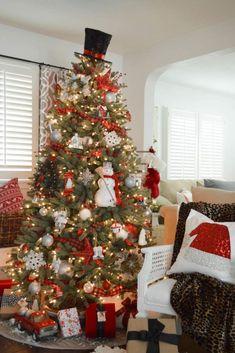 Jaycargogo Gift Bag Christmas Gifts Snowman Ornaments Decorations Gift Bag Socks