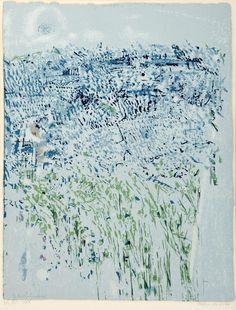 """MARIA HELENA VIEIRA DA SILVA(1908-1992) / Designação""""Primavera"""" / serigrafia sobre papel"""
