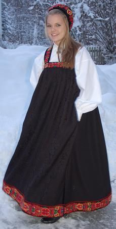 Female Bunad From Upper Hallingdal Norway Culture, Embroidered Hats, Thinking Day, Folk Costume, People Of The World, Headgear, Daily Wear, Folklore, Female