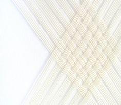 The Textile Art of Jane Denton - Design Milk - Art Textiles, Textile Prints, Textile Design, Textile Art, Milk Art, Fabric Manipulation Techniques, Origami Techniques, Rope Art, Thread Art