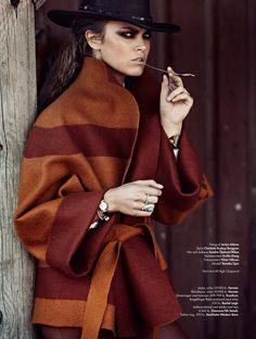 Desperado editorial | Plaza Kvinna magazine | photographed by Jaclyn Adams
