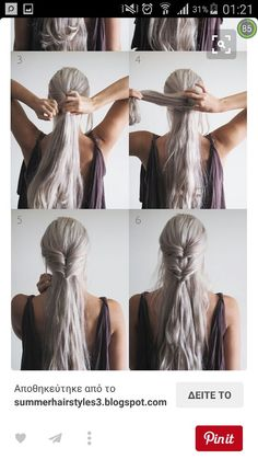 Game Of Thrones Characters, Braids, Couples, Hair Styles, Fictional Characters, Easy, Hair, Hair, Hair Style