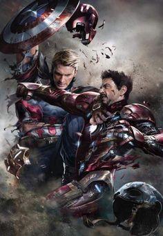 Capitão e homem de ferro
