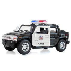 Rollplay 6v Gmc Yukon Police Suv Childs Battery Ride On
