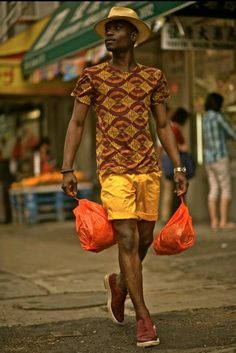 African print shirt for trend setters