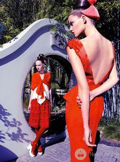 Victoria Anderson, Carly Engleton  Marie Claire Australia