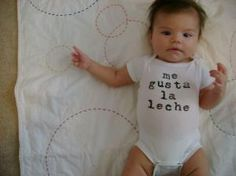 """""""cutest spanish onesie in the world by chachi1 on Etsy""""  <33"""
