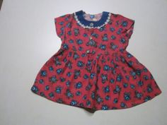Schoene-alte-Puppenkleidung-Kinder-Trachtenkleid
