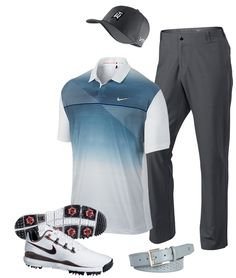 Tiger Woods shot a 3 under 69 on Thursday at the Open Championship in this outfit.  Get it at DGW.