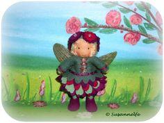 Blumenelfe Blumenkinder Jahreszeitentisch von Susannelfes Blumenkinder  auf DaWanda.com