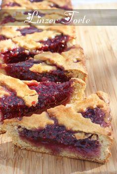 Linzer torte / confiture de framboises