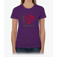 Cool Dodge 2017: DODGE DEMON LOGO Womens T-Shirt... Products Check more at carboard.pro/...