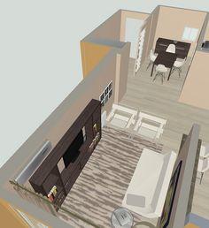 Diseño del Living room