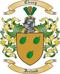 Cleary Family Coat of Arms from Ireland