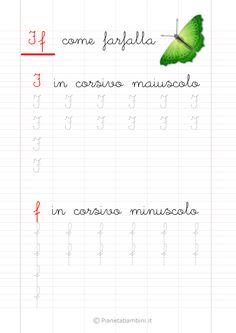 Schede di Pregrafismo delle Lettere dell'Alfabeto da Stampare | PianetaBambini.it Montessori, Alphabet, Homeschool, Education, Words, Gaia, Veronica, Gabriel, Spring