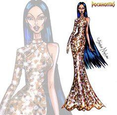Pocahontas - Disney Haute Couture