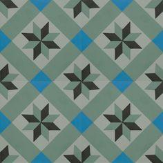 zementfliesen -> VN Negra 24 S6.6 - Designfliesen