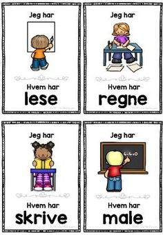 Browse over 40 educational resources created by LaerMedLyngmo in the official Teachers Pay Teachers store. Norwegian Words, Norway, Baseball Cards, Reading, Ideas, Reading Books