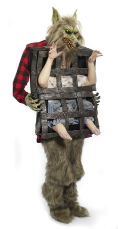 Disfraz lobo hombre en jaula adulto Disponible en http://www.vegaoo.es/p-217943-disfraz-lobo-hombre-en-jaula-adulto.html?type=product