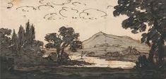 alexander cozens - Google Search Google Art Project, Art Google, High Quality Images, Celine, Landscape Paintings, Inventions, Bing Images, Mario, Animation