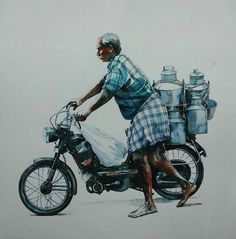 Watercolour Paintings By Rajkumar sthabathy (Part - II)