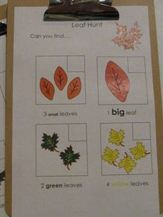 Fall Leaf checklist