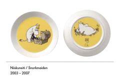Niiskuneiti ruokalautanen (2puoleisella kuvalla)
