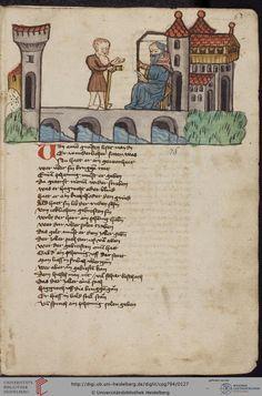Cod. Pal. germ. 794: [Ulrich] Boner: Edelstein (Schwaben (Oberrhein?), um 1410/1420), Fol 60r