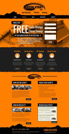 Unique Web Design, Fresh Start #web #design #webdesign
