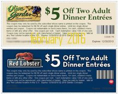 Red Lobster Coupons Ends of Coupon Promo Codes MAY 2020 ! Red Lobster is an American casual dining restaurant that offers high quality. Lunch Menu, Dinner Menu, Olive Garden Lunch, Red Lobster Coupons, Olive Garden Coupons, Lobster Dinner, Restaurant Coupons, Free Printable Coupons, Free Coupons