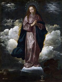 10 Inmaculada Concepción (National Gallery de Londres, c. 1618) - Diego Velázquez - Wikipedia, la enciclopedia libre