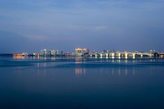 pictures of sarasota florida | Sarasota, FL as seen from Longboat Key