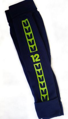 Hey, I found this really awesome Etsy listing at https://www.etsy.com/listing/247399203/seahawks-baby-leggings-12th-man-seattle