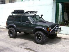 Jeep Grand Cherokee Chop Top Project Military Cherokee