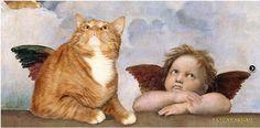 La artista Svetlana Petrova transforma a su gato Zarathustra en obras de arte   SFG