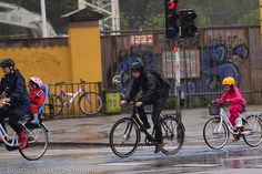Even in the rain Copenhagen bike culture (funny, cool, green, co2, healthy city, capital, transport, easy, fast, amazing, funny, bicycle)