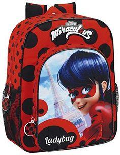 Oferta: 24.99€ Dto: -26%. Comprar Ofertas de Safta Lady Bug Mochila Escolar, 38 cm, Rojo / Negro barato. ¡Mira las ofertas!