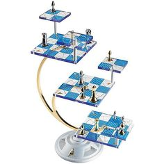 To celebrate the 50th anniversary of the Star Trek franchise, here is an officially-licensed tridimensional chess set, just like the one we've often seen in many episodes of Star Trek: TNG. T…