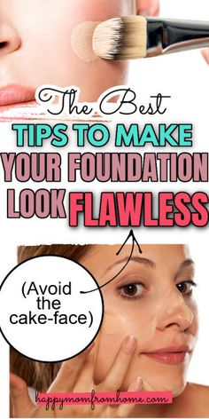 How To Use Foundation, Foundation For Mature Skin, Foundation Tips, Perfect Foundation, Applying Foundation, Makeup Tutorial Foundation, No Foundation Makeup, How To Apply Concealer, How To Apply Makeup