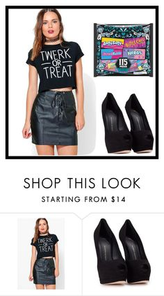 """""""high school Halloween parties"""" by emotional3sense3birth ❤ liked on Polyvore featuring Boohoo and Giuseppe Zanotti"""