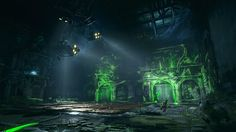 Batman Arkham Knight Environment Art