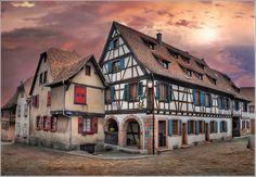 The White House  Dambach la Ville - Alsace - France