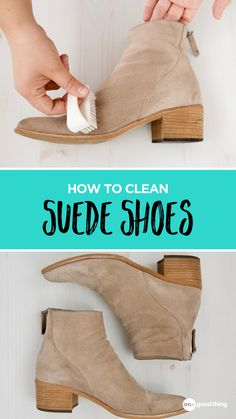 Household Cleaning Tips, House Cleaning Tips, Diy Cleaning Products, Clean Suede Shoes, How To Clean Suede, Simple Life Hacks, Useful Life Hacks, Cute Shoes, Me Too Shoes