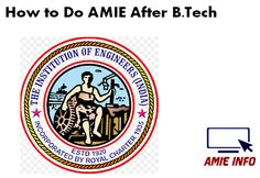 how-to-do-amie-after-btech