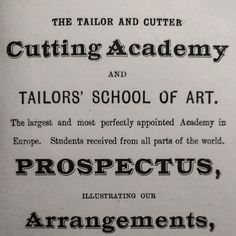 The Advantages of Tailoring