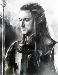 Richard Armitage as an elf.