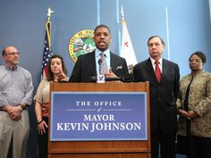 AFRICAN AMERICAN REPORTS: Kevin Johnson Won't Seek Re-Election Amid Sexual Abuse Allegations