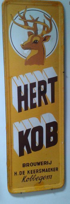 Beer Advertisement, Advertising Signs, Sous Bock, Vintage Metal Signs, Decor, Sheet Metal, Shop Signs, Dekoration, Decoration